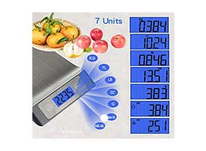 Stainless Steel Digital Kitchen Scale