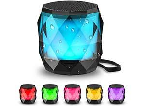 LFS Portable Bluetooth Speaker with Lights