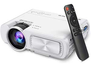 4500Lux Portable Projector 200inches Display