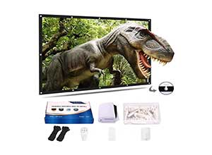 120 Inch 16:9 HD Double Sided Projection Screen