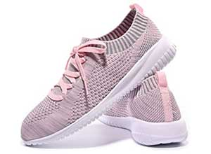 Slip on walking shoes for women