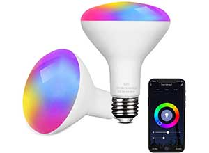 WiFi Smart Light Bulb Compatible with Alexa