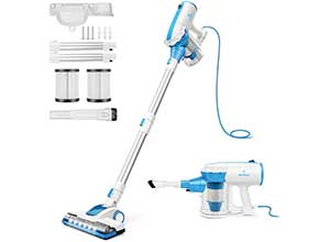 4 in 1 Stick Vacuum Cleaner with 2 filters