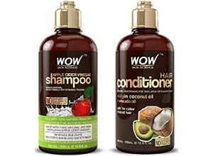 WOW Apple Cider Vinegar Shampoo set