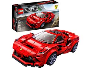 76895 Ferrari F8 Tributo Toy Cars for Kids