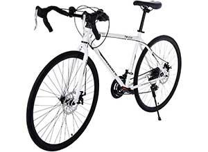 Aluminum Full Suspension Road Bike