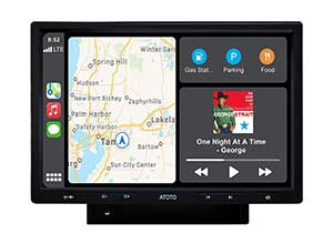 CarPlay and Android Auto Receiver