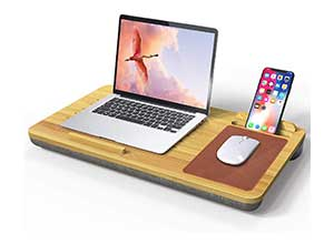 Multifunctional Bamboo Lap Desk Stand