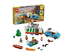 LEGO Creator 3in1 Caravan Family Holiday 31108