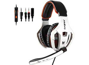 Noise Canceling Gaming Headset with Mic
