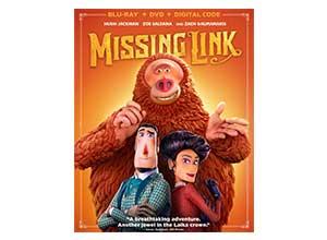 Missing Link Includes Digital Copy Blu-ray-DVD