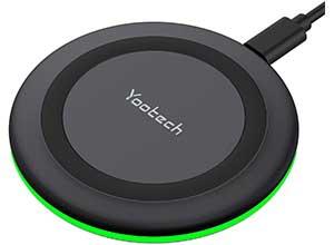 10W Qi-Certified Yootech Wireless Charger