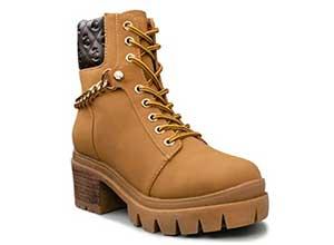 Womens Lace Up Fall Fashion Boots