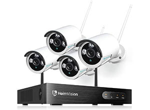 Wireless Security Camera System 8CH NVR 4Pcs