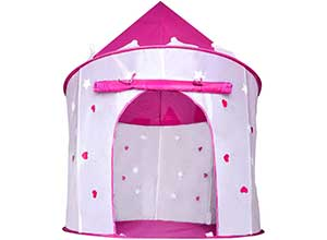 Princess Castle Play Tent with Glow