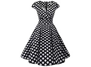 Vintage Cocktail Party Swing Dresses