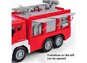 Gizmovine Fire Truck Toys for 3 years kids