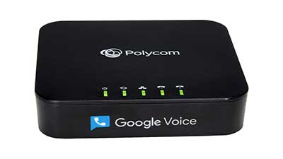 2-Port VoIP Phone Adapter with Google Voice