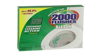 290081 Chlorine Bleach Automatic Toilet Bowl Cleaner