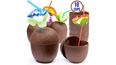 Prextex 18 Pack Coconut Cups