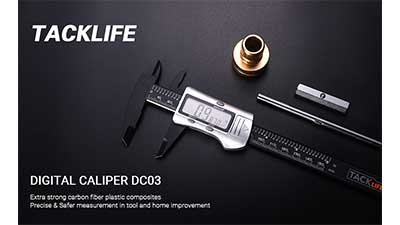 TACKLIFE Digital Caliper Measuring Tool