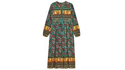 Boho Maxi Dresses for Women Casual Summer