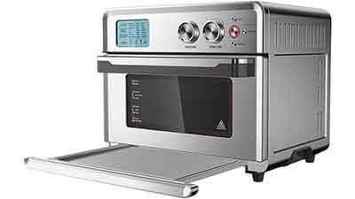 Emerald 25L Digital Air Fryer Oven Silver