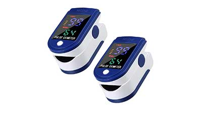 Pulse Oximeter Fingertip with LED Display