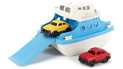 Green Toys Ferry Boat Toy Blue-White
