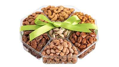 Holiday Nuts Gift Basket Extra Large 2LB