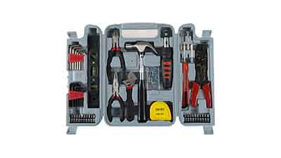 Stalwart 130-Piece Household Hand Tool Set