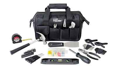 Hyper Tough 89-Piece Household Tool Set