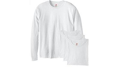 Hanes Mens Long-Sleeve ComfortSoft T-Shirt