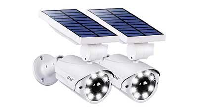 Solar Motion Sensor Light Outdoor