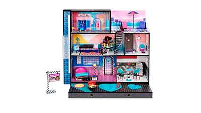 LOL Surprise OMG House Real Wood Doll House