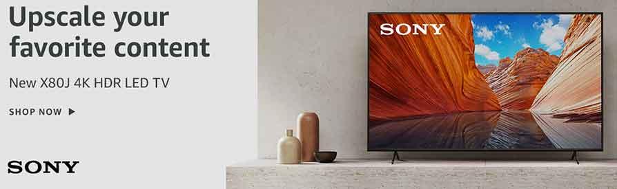 SONY X80J 4K HDR LED TV