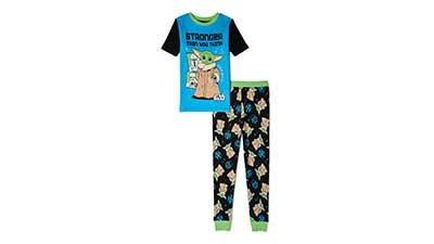 Star Wars The Mandalorian Top & Pants Pajamas, 2-Piece Set