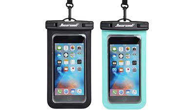 Universal Waterproof Case Phone Pouch 2 Pack