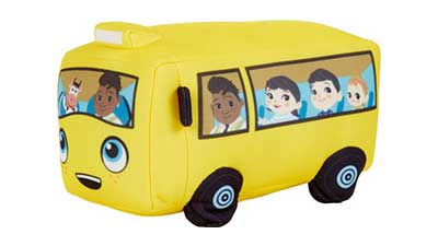 Little Baby Bum Wiggling Wheels on the Bus