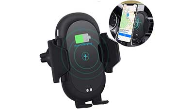 Wireless Car Charger Mount Qi Car Charger
