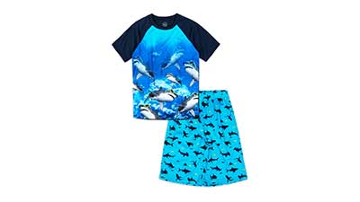 Wonder Nation Boys Pajama Shorts Sleep Set