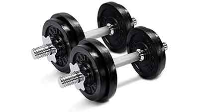 Yes4All Adjustable Dumbbells 50lbs