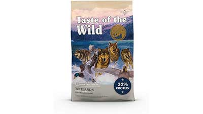 Dry Dog Food With Roasted Fowl