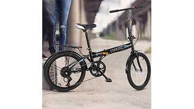 Lightweight Aluminum Folding Mountain Bike