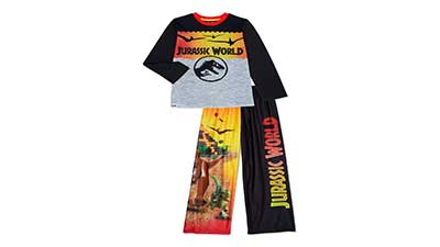 Lego Jurassic World Boys Pajama Set 2-Piece