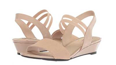 Womens yolo Peep Toe Casual Slingback Sandals