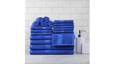 Basic Bath Collection 18-Piece Towel Set