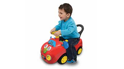 Lights N Sounds Activity Buggy Ride-On