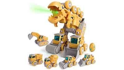 5 in 1 Take Apart Dinosaur Toys for Kids