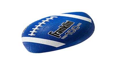Franklin Sports Grip-Rite 100 Rubber Junior Football